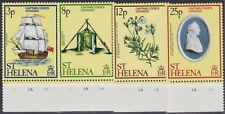 s0011) St. Helena. 1979 MNH. SG 347/8/9/50 Captain Cook's Voyages. Ships