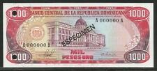 Dominican Republic 1000 Pesos Oro 1981 Specimen Unc