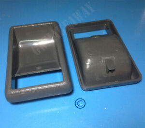 Fits TOYOTA HILUX PICKUP LN50 LN56 LN60 PAIR INNER DOOR HANDLE CUP BRAVA 84 - 88