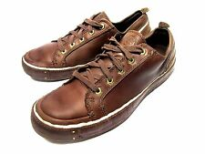 TIMBERLAND 9 M CASUAL LOW SNEAKERS BROWN SPORT FASHION MENS SHOES