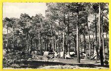 cpsm 85 - SION SUR l'OCÉAN (Vendée) Le CAMPING Forêt TENTES