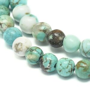 Natural Turquoise 10mm Gemstone Beads approx. 37pcs DIY Bead