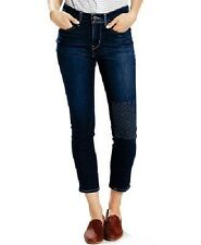 Womens Levi's 311 Shaping Ankle Skinny Jeans Dark Blue Wash Size 33