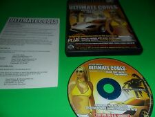 Action Replay Ultimate Codes:  Grand Theft Auto -- San Andreas PlayStation 2 PS2