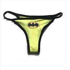 Sexy Women's Superhero Batman Cartoon Thong Underwear G-string Panties Lingerie
