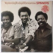 THE SPINNERS: Yesterday Today & Tomorrow SEALED USA '77 Funk Soul Hype LP