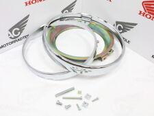 HONDA CB 750 four k4 k5 k6 Chrome Anneaux Réflecteur Phares Boîtier Lampes Anneaux