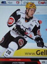 382 Jason Young Frankfurt Lions DEL 2008-09