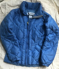 Columbia Down Puffer Womens Small Winter Jacket Blue