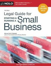 Legal Guide for Starting and Running a Small Business by Fred S. Steingold (2015