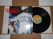 LP- John Pegram - Freshen Up America  Signed