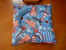 """Bowling Ball Cup/Holder - """"PATRIOTIC FLAGS & BOOTS"""" Pattern Handmade"""