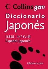 Diccionario español-japonés Collins Gem. ENVÍO URGENTE (ESPAÑA)