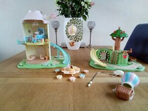 Sylvanian Families Primrose Hill & Windmill with connection pin