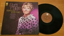 "Patti Page....""Stand By Your Man"" 12"" Vinyl Record LP"