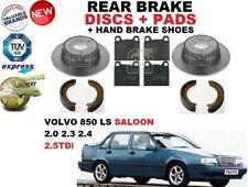 Volvo V70 I 2.5 142 Front Brake Pads Discs Kit Set 280mm Vented