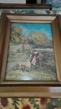 Boetto Giulio,olio tela cart.35x25