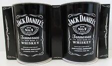 Jack Daniels - Set Of Two Glass Tumbler Drinking Cups - Gift Box - BNWT