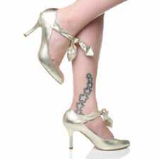 Unbranded Stiletto Mary Janes Synthetic Heels for Women