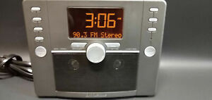 Brookstone Tranquil Moments Bedside White Noise Sleep Machine AM/FM Alarm Clock