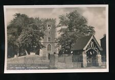 Wales Mon Monmouthshire NEWPORT St Woolos Church 1948 RP PPC