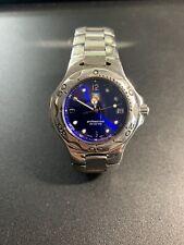 Tag Heuer Royal Blue Kirium Stainless Watch Mens WL1116