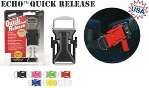 ECHO Quick Release UNIVERSAL Disconnect Buckle Motorcycle Helmet Chin Strap