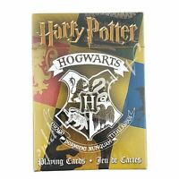 Harry Potter Hogwarts House Themed 52 Playing Cards Collection New In Package