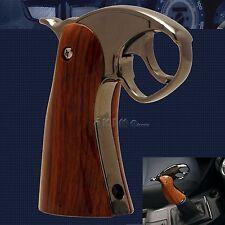 Universal Manual Automatic Transmission Pistol Shift Knob Handle Shifter Trigger