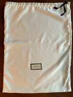 """New Authentic Gucci White DUST BAG 17.5"""" X 23.5"""""""