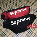 Supreme FW16 3M Fluorescent Box Logo Pocket Shoulder Bag  Leisure Stud Waist Bag