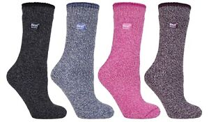 Heat Holders - Womens Thick 2.9 TOG Hiking Winter Warm Merino Wool Thermal Socks