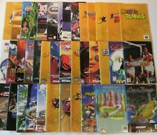 Authentic Nintendo 64 N64 Instruction Manual Booklet Super Mario Kart Smash Bros