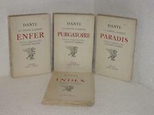La divine comedie en 4 volumes.DANTE.Albin Michel 1947-49. TB6