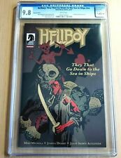Hellboy: They That Go Down to the Sea in Ships CGC 9.8 - Konami Promotional #nn