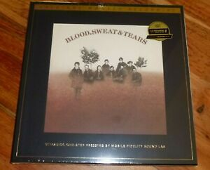 Blood, Sweat & Tears MFSL ULTRADISC One-Step 2 lp No: 001546 Sealed!