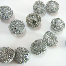 20PCS Help burning metal mesh Combustion network  smoking Tobacco Pipe Filters