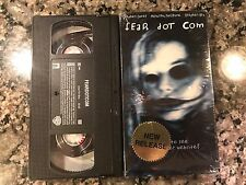 FEAR DOT COM VHS! 2002 Horror! Pulse Ring Dog Soldiers Peeping Tom They