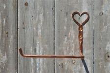 Beautiful hand beaten pure copper Shaker heart toilet tissue roll holder