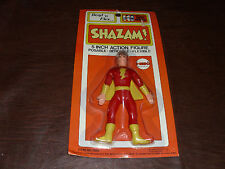 Vintage Mego Bend n' Flex Shazam Bendy Action Fig. Captain Marvel Rare MOSC 1972