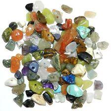 GC9910 Assorted Gemstone Medium (4-10mm) Nugget Chip Bead Mix 1-Ounce