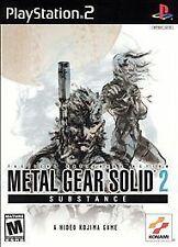 Metal Gear Solid 2: Substance (Sony PlayStation 2, 2003) PS2 Game
