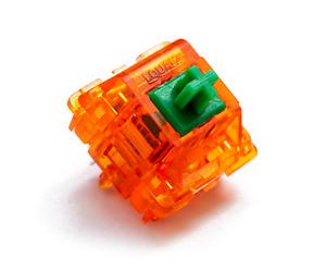 C³EQUALZ x TKC Tangerine Mechanical Tactile Keyboard Switch - 62/67g Spring