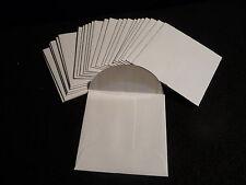 25  KRAFT  24 lb.  PAPER  COIN ENVELOPES  ( 2.25 X 2.25 )  WHITE WOVE  (#2)