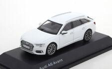 1:43 iScale Audi A6 Avant 2018 whitemetallic