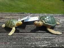 GREEN SEA TURTLE ADULT & BABY by Safari Ltd /274329/ toy