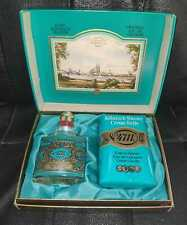 4711 Echt Kolnisch Wasser - ORIGINAL EAU DE COLOGNE - with Cream Soap - NEW