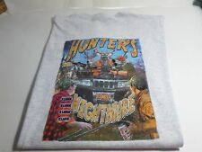 Hunter's Nightmare Buckneck  Deer Camp T-Shirt Size XL New without tags