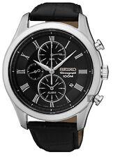 Seiko Gents Alarm Chronograph Watch - SNAF71P1 NEW