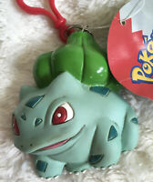 Vintage 1998 Nintendo Pokemon Keychain Change Purse Pouch Bulbasaur